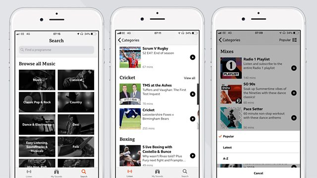BBC iPlayer for Radio app to close this month – RadioToday