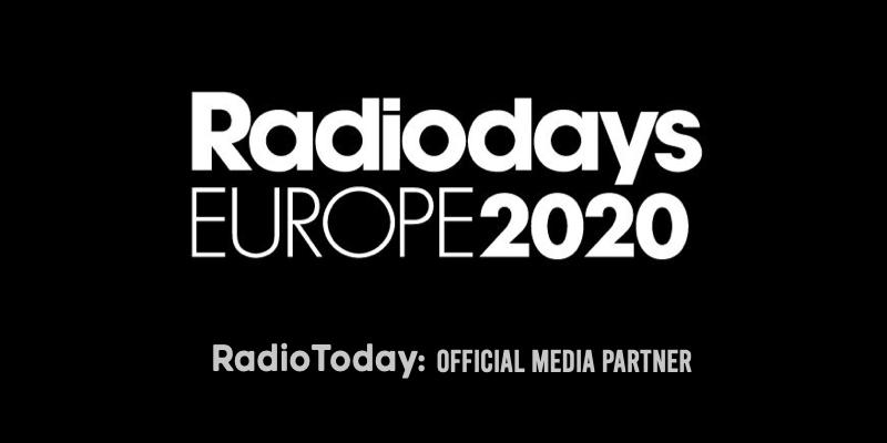 Radiodays Europe event rearranged for October 2021