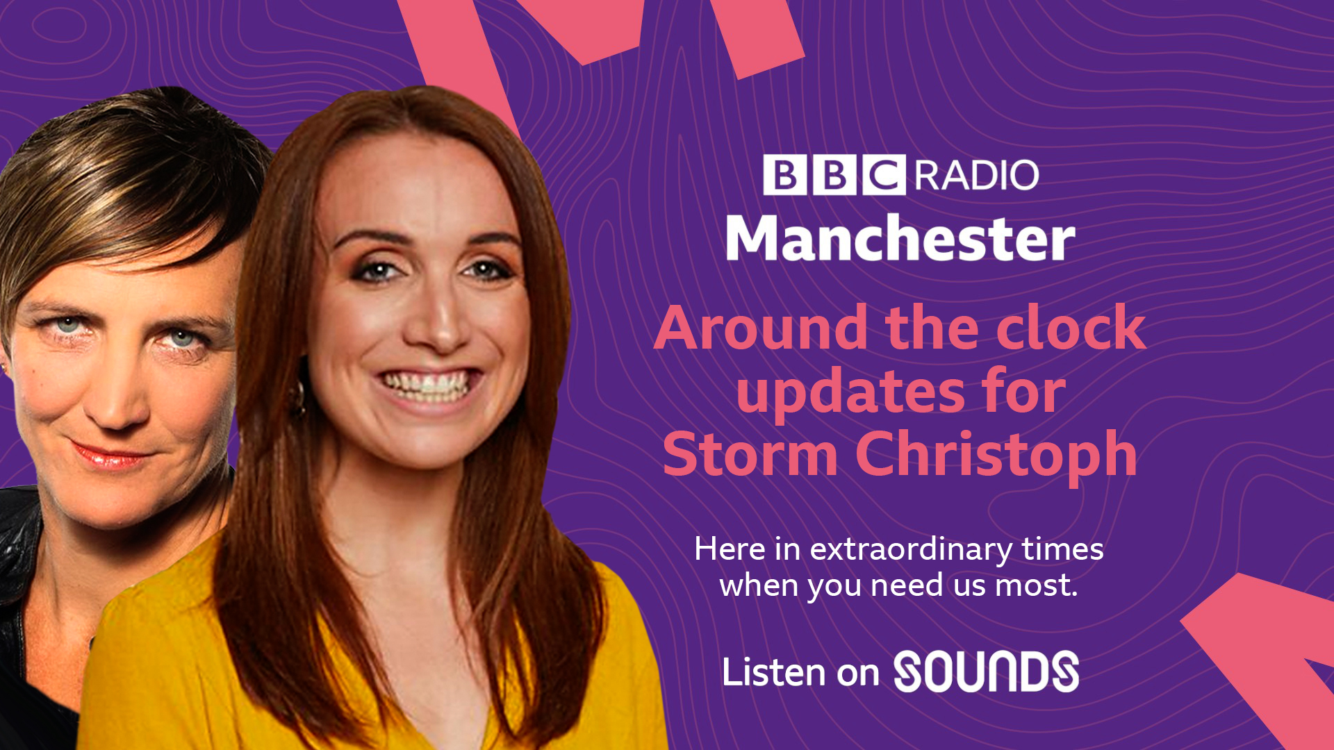 BBC Radio Manchester stays local for storm Christoph