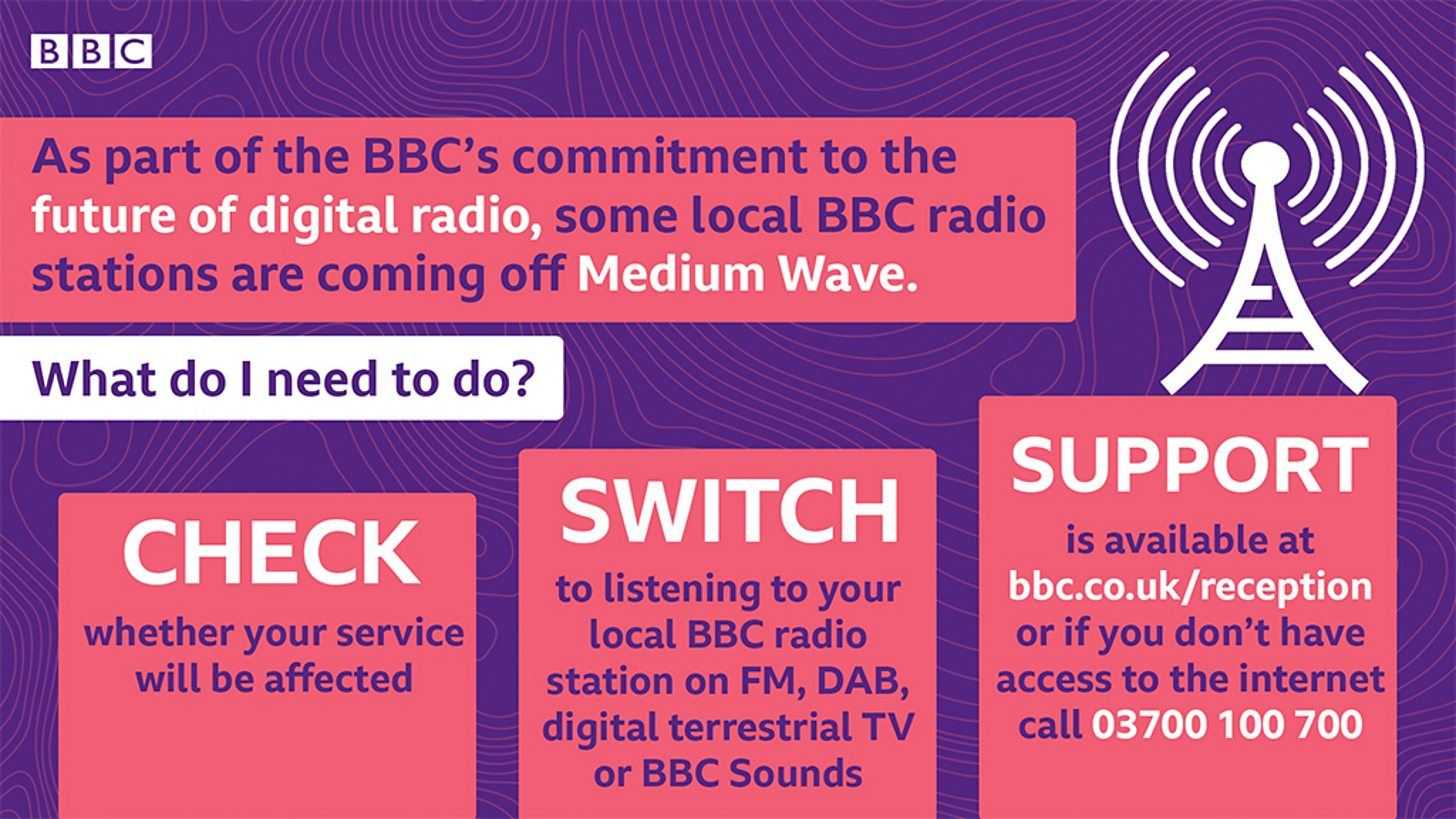 Ten more stations turn off Medium Wave services