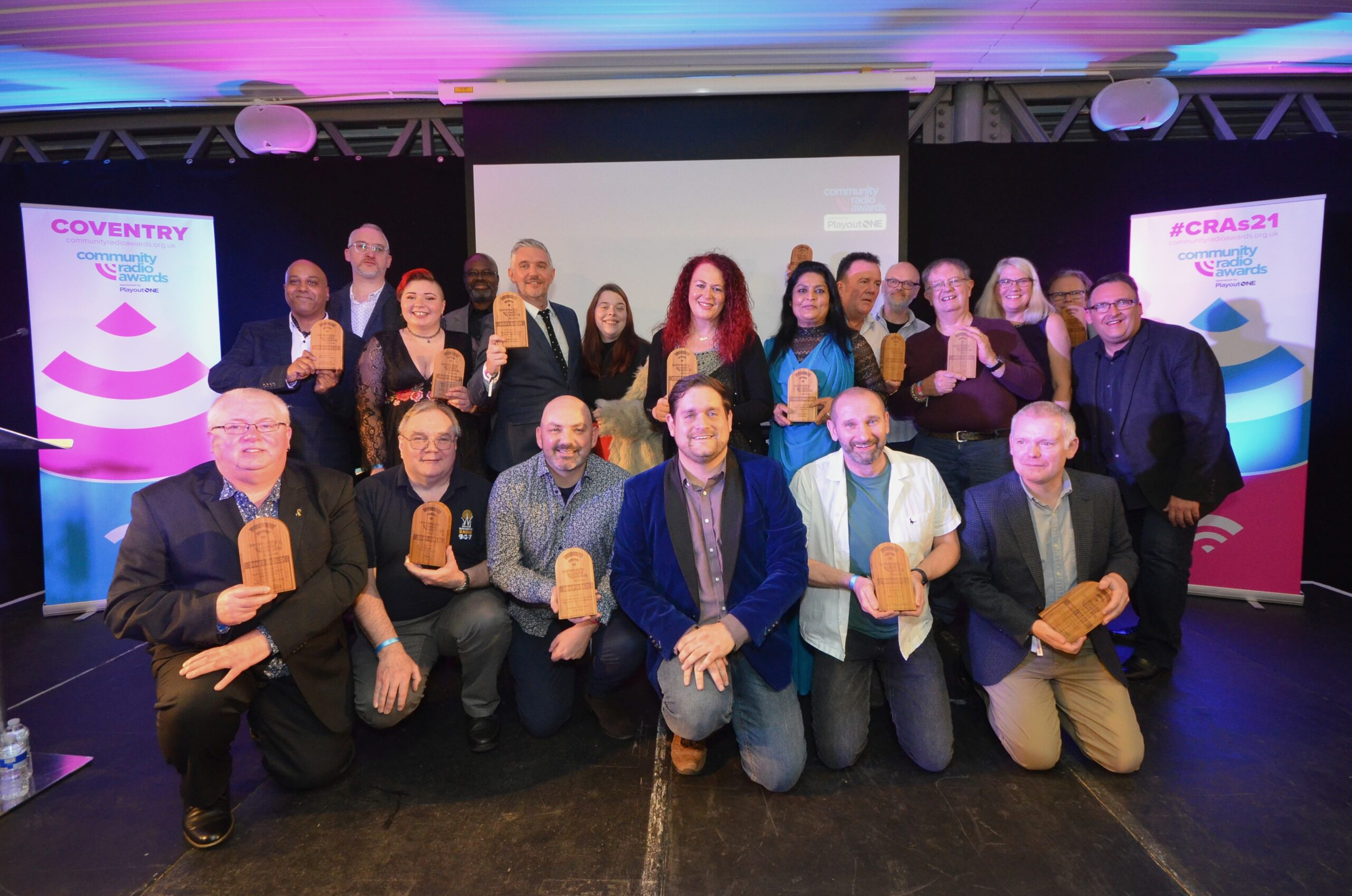 All the winners from the Community Radio Awards 2021