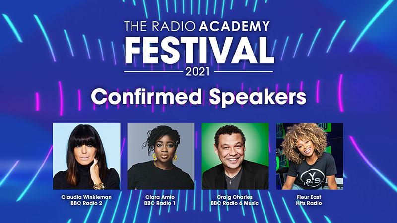 More radio presenters added to Radio Academy Festival line-up